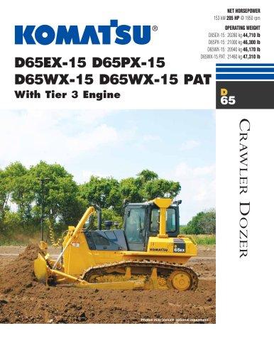 D65EX-15, D65PX-15, D65WX-15, D65WX-15 PAT