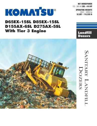 D65EX-15SL D85EX-15SL D155AX-6SL D275AX-5SL