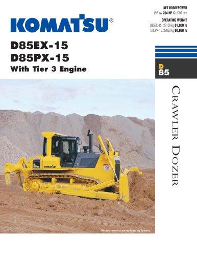 D85PX-15, D85EX-15