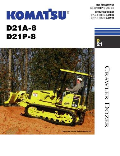 Dozers D21P-8