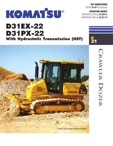 Dozers D31PX-22