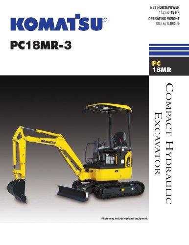 Excavators PC18MR-3