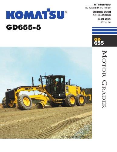 Graders GD655-5