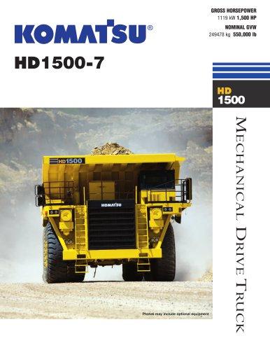 HD1500-7 Off-Highway Truck