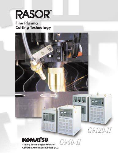 Komatsu G9120 / G940 Fine Plasma Brochure