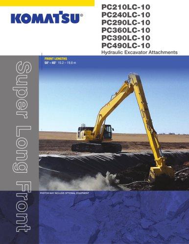 PC290LC-10 Super Long Front