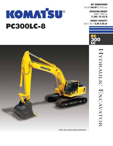 PC300LC-8