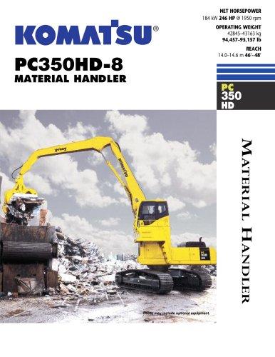 PC350HD-8 MH