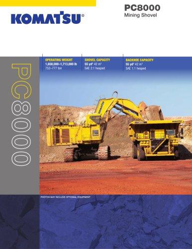 PC8000-6 Mining Shovel