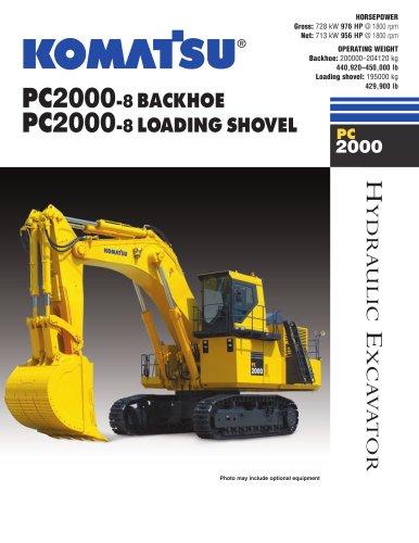 Shovels PC2000-8 Shovel