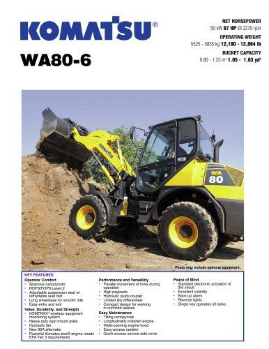 Wheel Loaders WA80-6