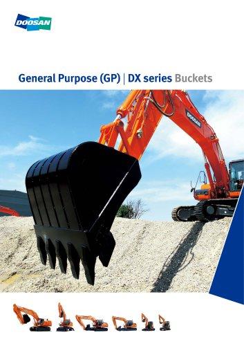 DX series Buckets