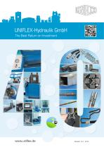 UNIFLEX-Hydraulik GmbH The Best Return on Investment