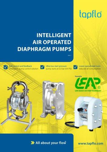 INTELLIGENT AIR OPERATED DIAPHRAGM PUMPS