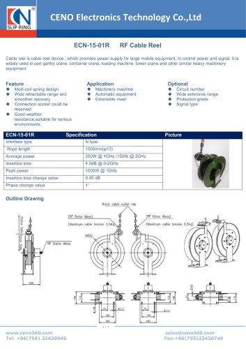 CENO Cable Reel ECN-15-01R