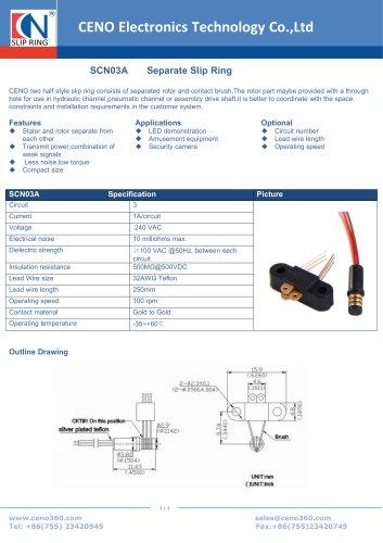 CENO Separate Slip Ring SCN03A