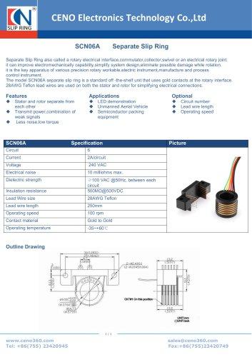 CENO Separate Slip Ring SCN06A