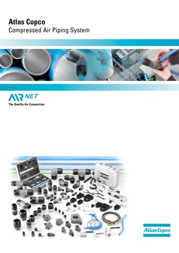 Atlas Copco Compressed Air Piping System