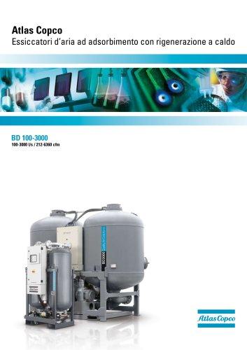 Atlas Copco Essiccatori d'aria ad adsorbimento con rigenerazione a caldo