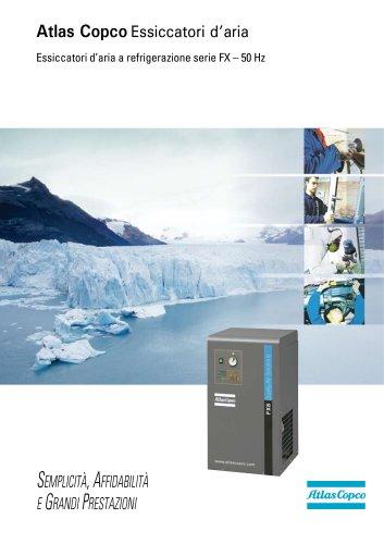 Atlas Copco Essiccatori d'aria Essiccatori d'aria a refrigerazione serie FX – 50 Hz
