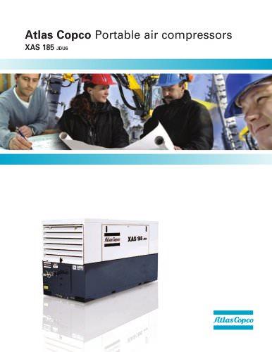 Atlas Copco Portable air compressors XAS 185 JDU6