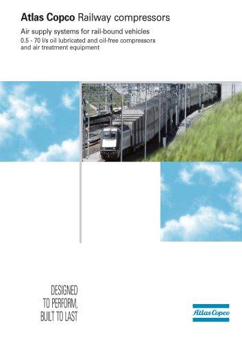 Atlas Copco Railway compressors