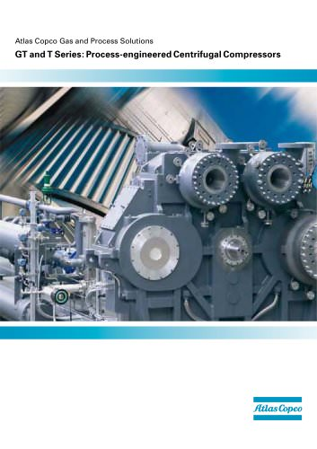 GT and T Series: Process-engineered Centrifugal Compressors