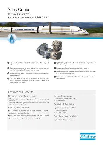 Pantograph compressor LFxR 0.7-1.0