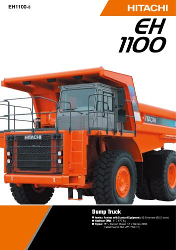 EH1100-3 - Rigid Dump Trucks