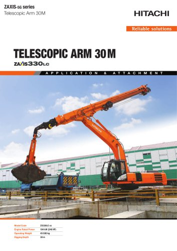 TELESCOPIC ARM 30M