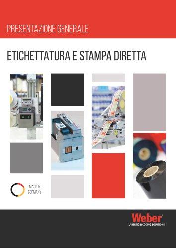 Etichettatura e Stampa Diretta   Weber Marking Systems