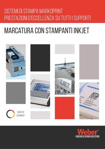 Markoprint Inkjet   Marcatura a Getto Di Inchiostro Weber Marking Systems