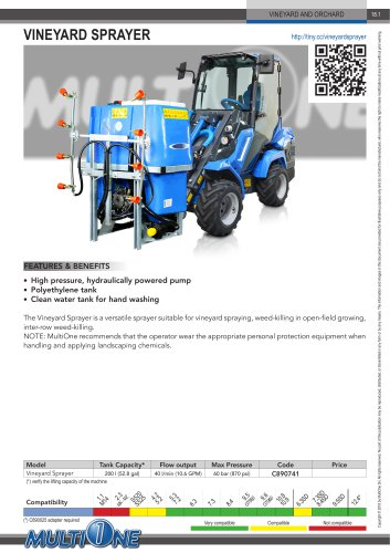 VINEYARD SPRAYER