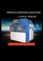 Vertical section&profile bending machine GJW24
