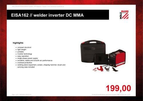 EISA162 // welder inverter DC MMA