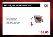 EKR20M_400V // electric cable reel