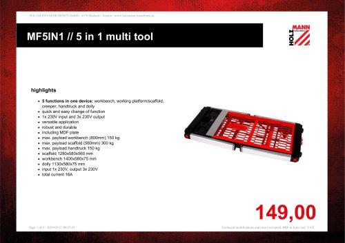 MF5IN1 // 5 in 1 multi tool