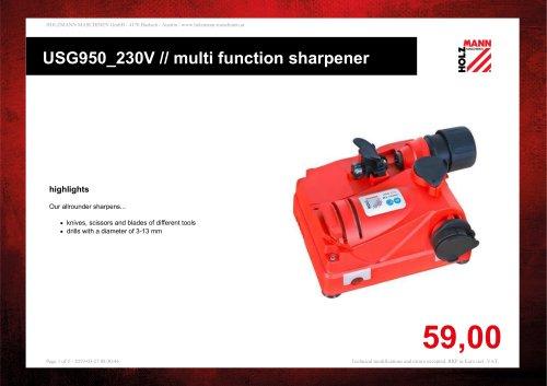 USG950_230V // multi function sharpener