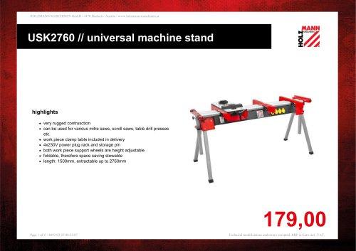USK2760 // universal machine stand