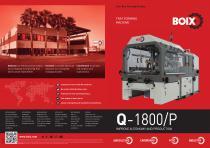 New Boix Q-1800/P Tray forming machine