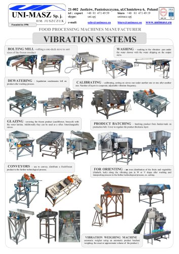 VIBRATION SYSTEMS