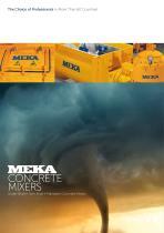 Meka concrete Mixers