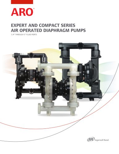 ARO EXPERT SERIES AIR OPERATED DIAPHRAGM PUMPS