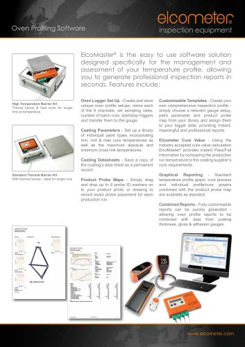 ElcoMaster® Oven Profiling Software