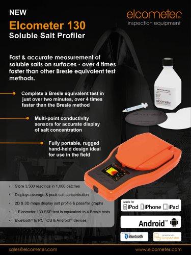 Elcometer 130 - Solube Salt Profiler