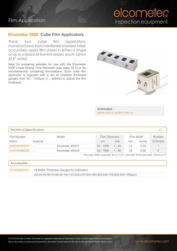 Elcometer 3505 - Cube Film Applicators