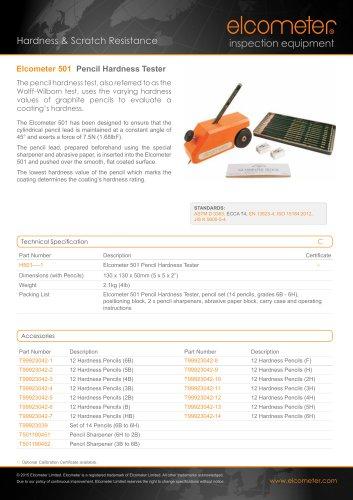 Elcometer 501 - Pencil Hardness Tester