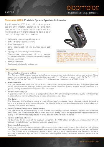 Elcometer 6085 Portable Sphere Spectrophotoeter