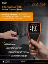 Elcometer A500 - Coating Thickness Gauge