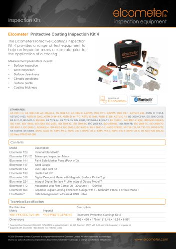 Elcometer - Protective Coating Inspection Kit 4